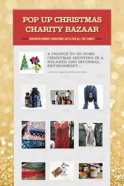 Pop Up Christmas Charity Bazaar