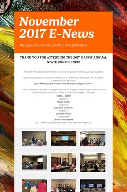 November 2017 E-News