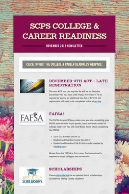 SCPS College & Career Readiness