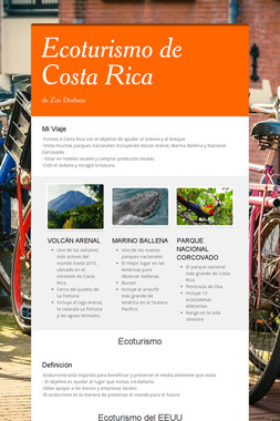 Ecoturismo de Costa Rica