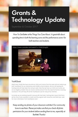 Grants & Technology Update