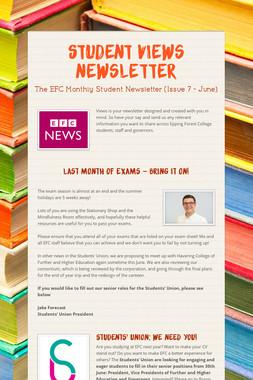 Student Views Newsletter