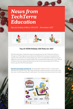 News from TechTerra Education
