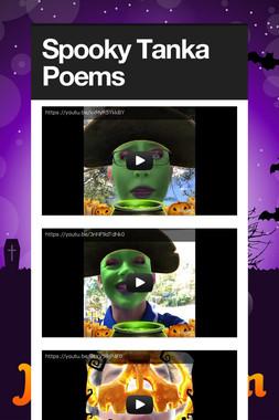 Spooky Tanka Poems