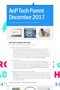 AoP Tech Parent December 2017