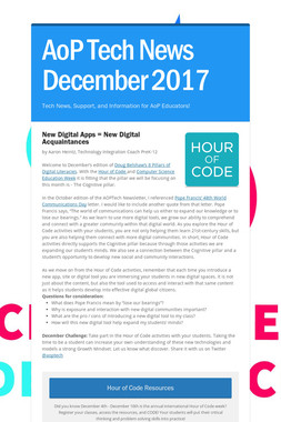 AoP Tech News December 2017