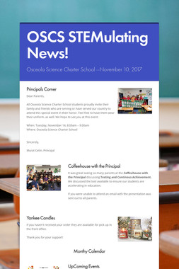 OSCS STEMulating News!