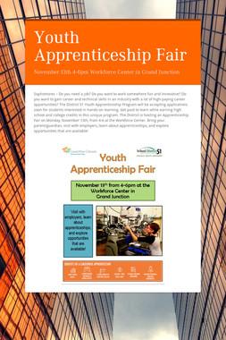 Youth Apprenticeship Fair
