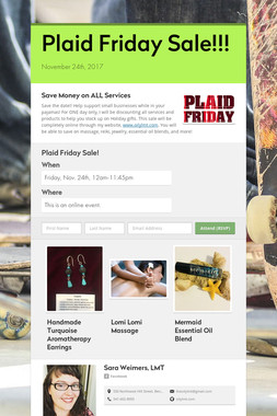 Plaid Friday Sale!!!