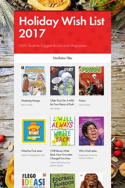 Holiday Wish List 2017