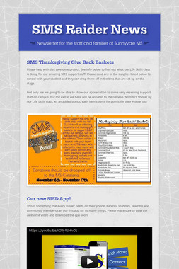 SMS Raider News