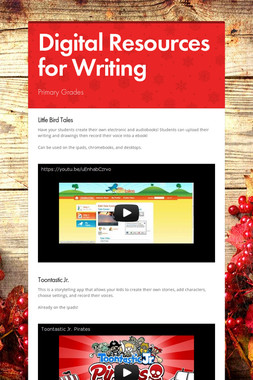 Digital Resources for Writing
