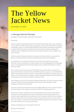 The Yellow Jacket News