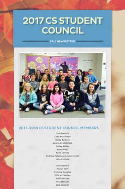 2017 CS Student Council