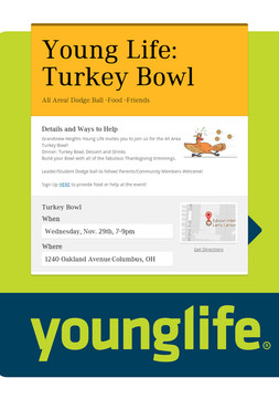 Young Life: Turkey Bowl