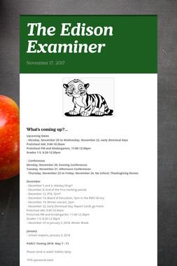 The Edison Examiner