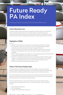 Future Ready PA Index