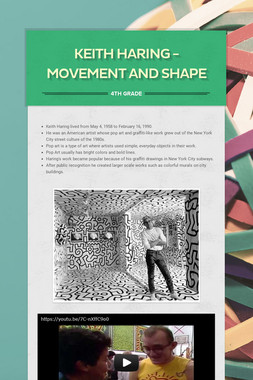 Keith Haring - Movement and Shape