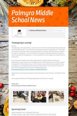 Palmyra Middle School News