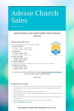 Adesse Church Sales