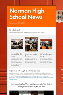 Norman High School News