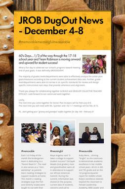 JROB DugOut News - December 4-8