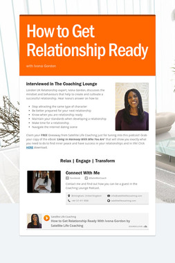 How to Get Relationship Ready