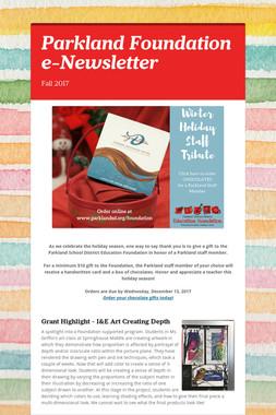 Parkland Foundation e-Newsletter
