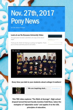 Nov. 27th, 2017 Pony News