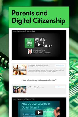 Parents and Digital Citizenship