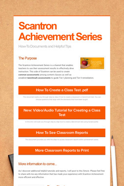 Scantron Achievement Series
