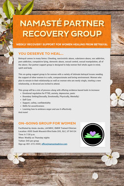 Namasté Partner Recovery Group