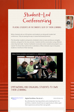 Student-Led Conferencing