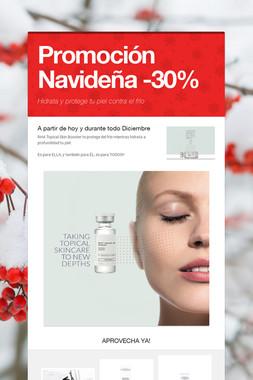 Promoción Navideña -30%