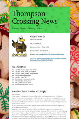 Thompson Crossing News