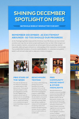 Shining December Spotlight on PBIS
