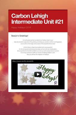 Carbon Lehigh Intermediate Unit #21