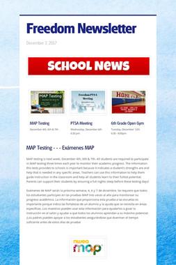 Freedom Newsletter