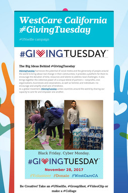 WestCare California #GivingTuesday