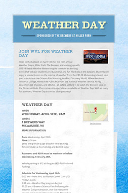 Weather Day