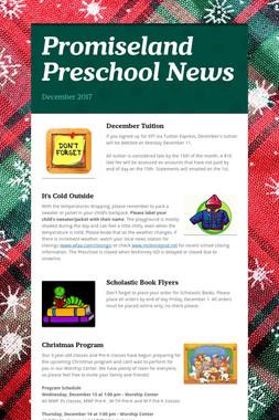Promiseland Preschool News