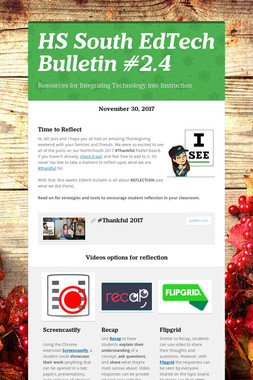 HS South EdTech Bulletin #2.4