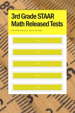 3rd Grade STAAR Math Released Tests