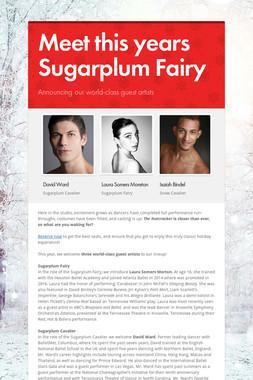 Meet this years Sugarplum Fairy