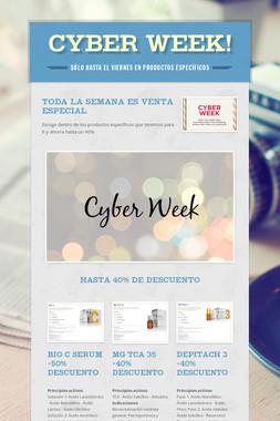Cyber WEEK!