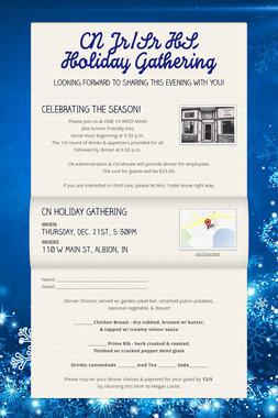 CN Jr/Sr HS Holiday Gathering