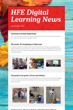 HFE Digital Learning News