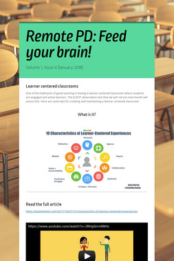 Remote PD: Feed your brain!