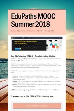 EduPaths MOOC Summer 2018