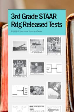 3rd Grade STAAR Rdg Released Tests